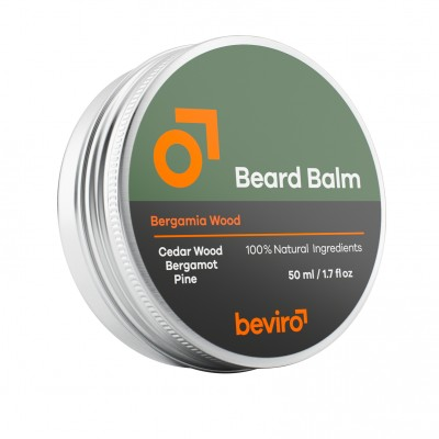 Balzam na  bradu BE VIRO Bergamia Wood 50ml