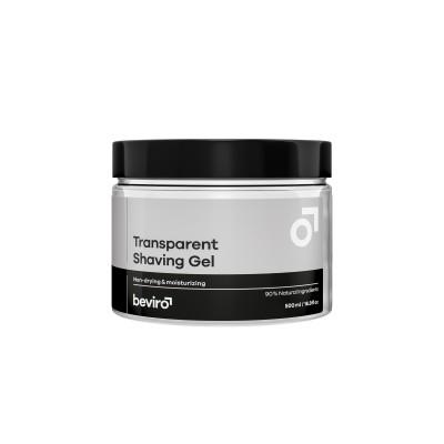 Transparentný gél na holenie BE VIRO 500ml