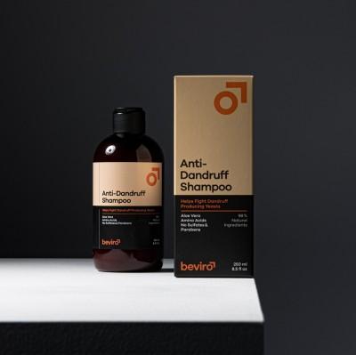 Prírodný šampón proti lupinám BE VIRO 250ml