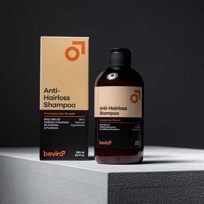 Prírodný šampón proti vypadávaniu vlasov BE VIRO 250ml